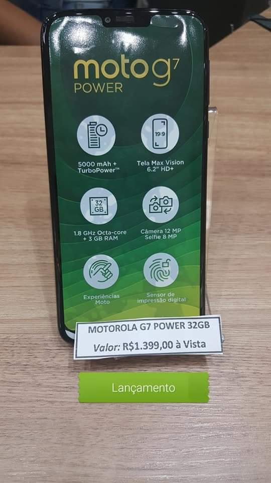 Moto G7 Power live shots confirm specifications and reveal Brazilian value