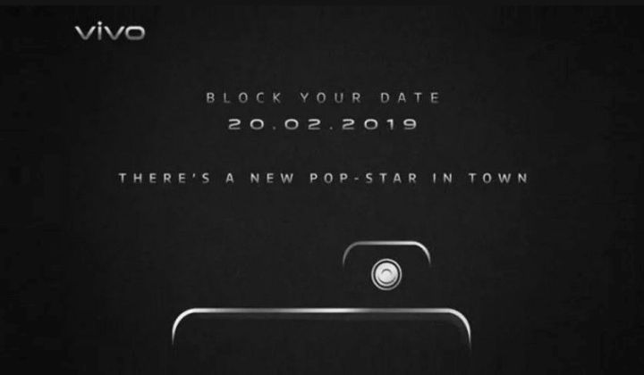 Vivo V15 Pro to launch on February 20 with pop-up selfie camera and notch-less screen