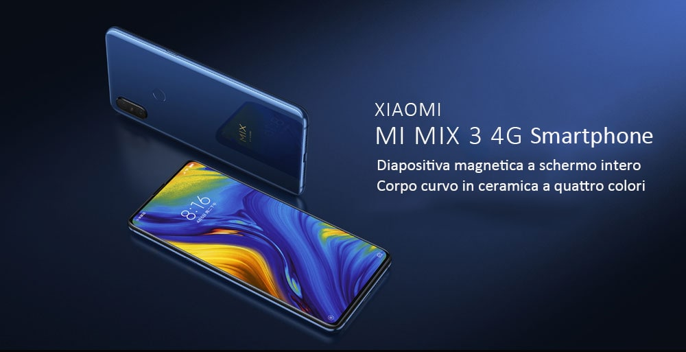 🔥Xiaomi Mi Mix 3  6+128GB Globale