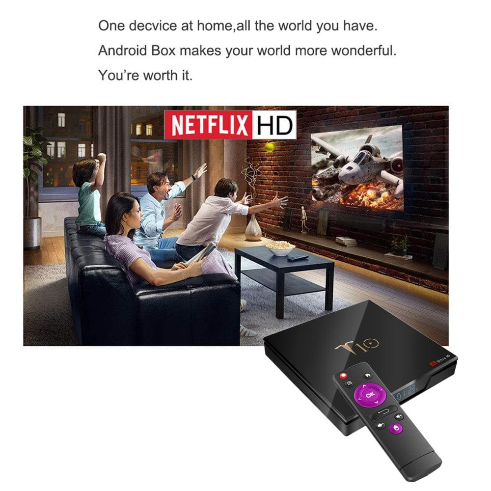 🔥T10 TV Box 2 GB di RAM + 16 GB di ROM