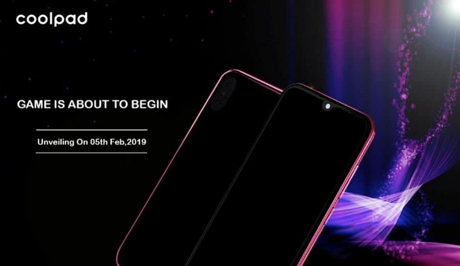 Coolpad Cool 3 with waterdrop notch and Android Pie to launch in India tomorrow