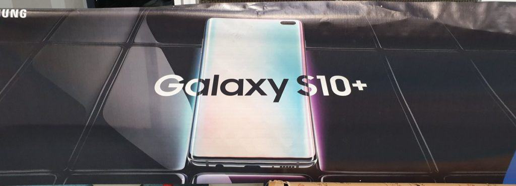 Leaked Samsung Galaxy S10+ poster  reaffirms the front design