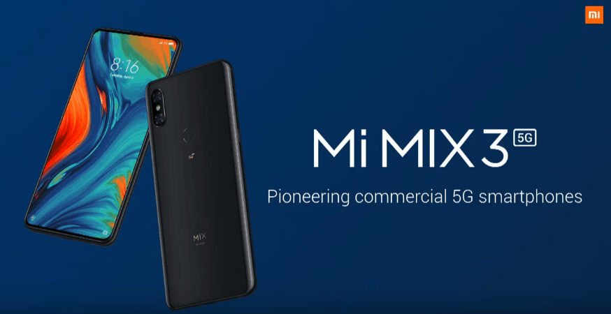 Xiaomi releases Mi MIX 3 5G for €599 at MWC 2019