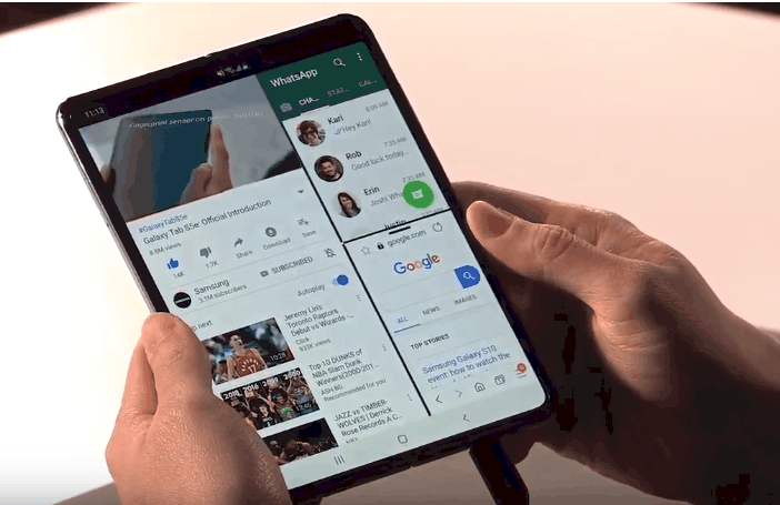 Samsung Galaxy Fold is official with Dual Displays, Dual batteries, 6 digital cameras