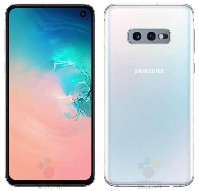 Samsung Galaxy S10e official renders leaked with major specifications