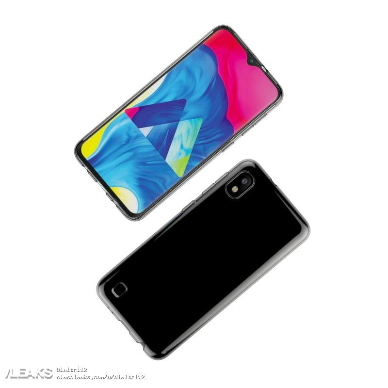 Samsung Galaxy A10 design leaked in case renders