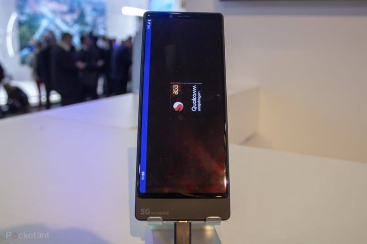 Sony Xperia 5G prototype smartphone presented  at MWC 2019
