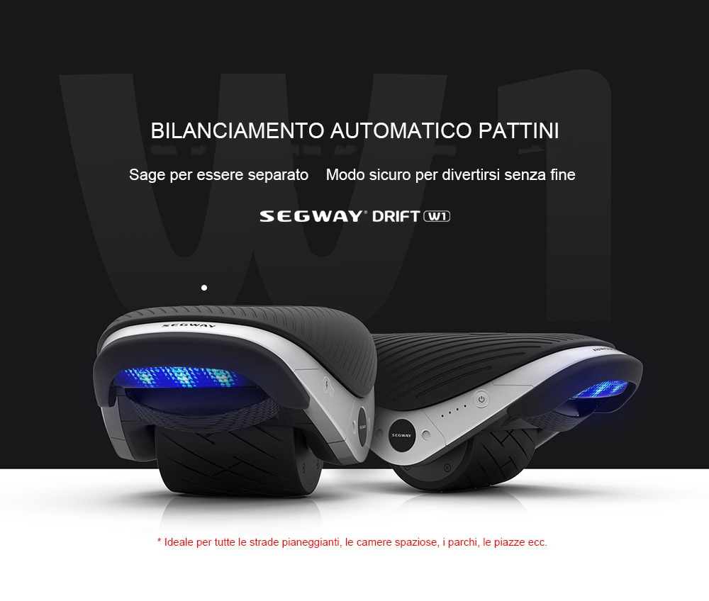 Ninebot Segway W1 Ruota Elettronica di Bilanciamento da Xiaomi Mijia 2 pezzi