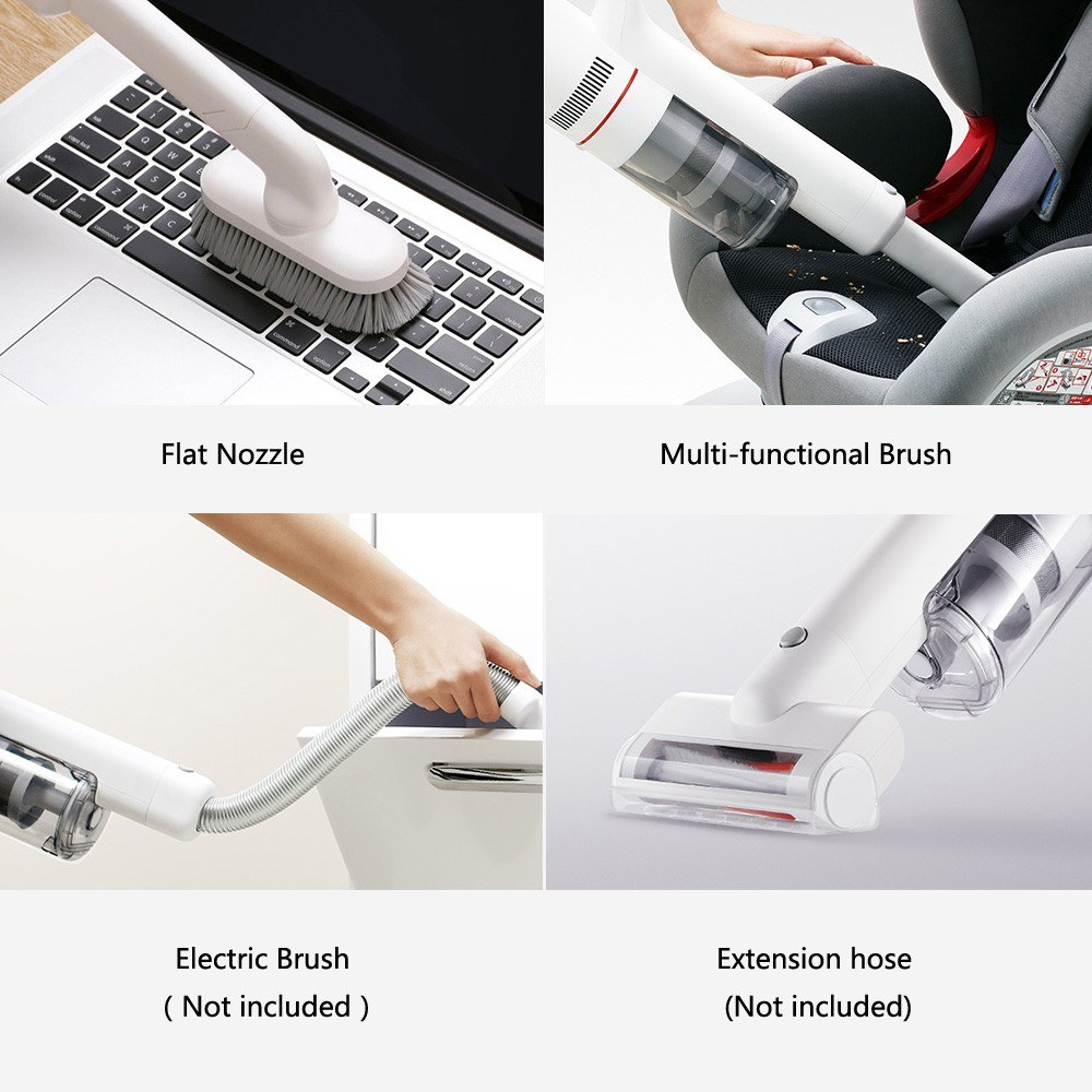 Xiaomi Roidmi Wireless Vacuum Cleaner Wet Mopping Vibration Scrubber(Duty Free Shipping)