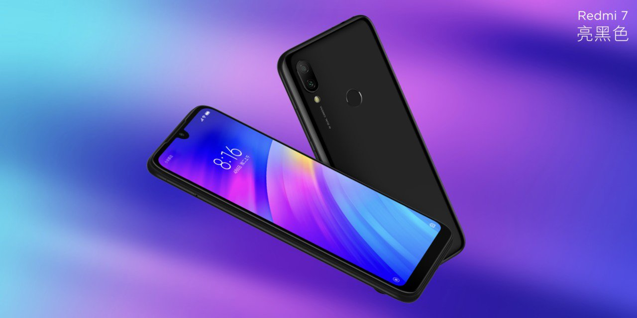 Redmi 7 with 6.2-inch waterdrop notch screen and Sd 632 is formal