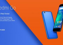 Redmi Go landed in India for INR 4,499 (usd65)