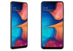 Samsung Galaxy A20 with Exynos 7884, 6.4-inch panel and dual rear digital cameras goes official