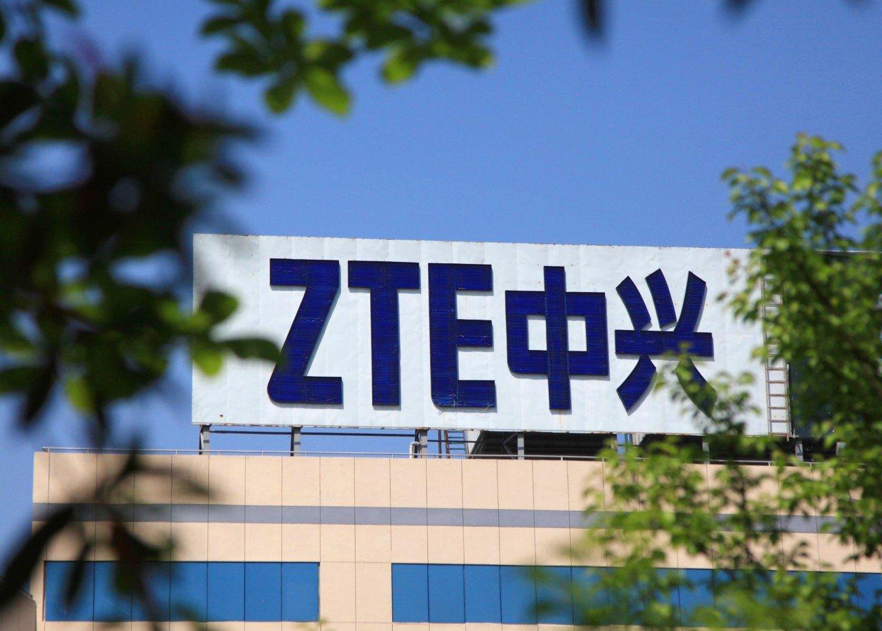 ZTE posts a record $1 billion loss