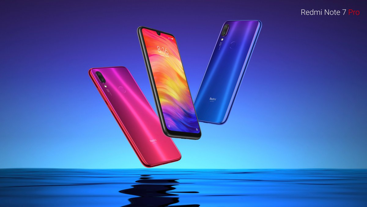 Redmi Note 7 Pro with FHD+ display and Snapdragon 675 SoC launched in China