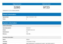 Honor 20 Pro spotted on Geekbench