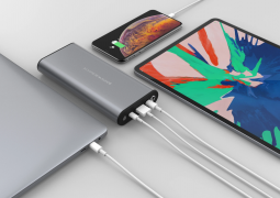 HyperJuice is the world's initial powerbank to support 100W power output