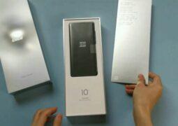 Xiaomi Mi 10 Ultra unboxing leaked
