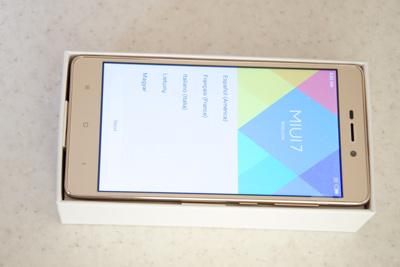 Xiaomi redmi 3s – android 6.0, snapdragon 430, fingerprint scanner
