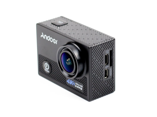 Review Andoer AN5000 4K 24fps WiFi Sports Action Camera 20MP 1080P 60fps